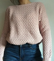 Pulover baby pink