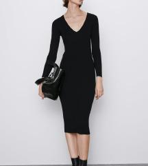 Zara rebrasta obleka