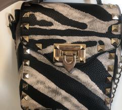Zebra torbica z neti