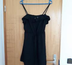 Krajša črna oblekica, H&M