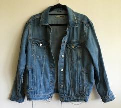 Oversized jeans jakna topshop