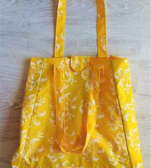 Večja poletna torba, za plažo,