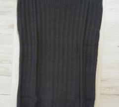 Pleteno-kvačkani brezrokavnik