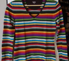 Ženski večbarvni pulover Montego, vel. S