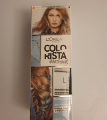Modra barva za lase