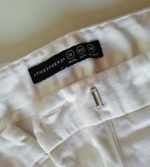 Bele 3/4 hlače