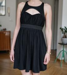 TopShop črna večerna obleka