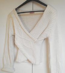 Wrap around pulover