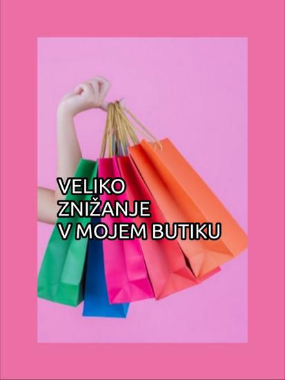 Novi izdelki, znižane cene,..