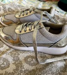 Teniske srebrne z bleščicami