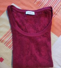 Čipkast pulover