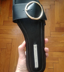 Zara elegantni natikači z zaponko