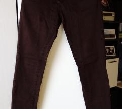 Ženske rjave hlače C&A, vel. 36