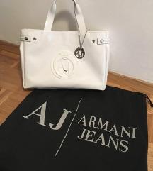 Armani Jeans nova bela torbica