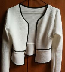 Nova črno bela jopica/blazer, S