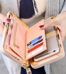 nova  denarnica   tudi za  telefon