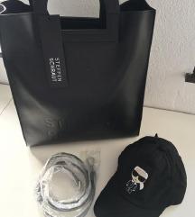 Steffen Schraut torbica + Karl Lagerfeld kapa