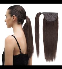 Čop iz naravnih las