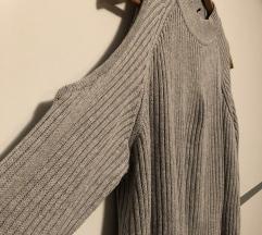 H&M siv pulover