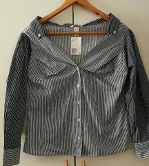 NOVA off-shoulder srajca vel. 38 H&M (ptt v ceni)