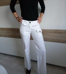 Ženske bele hlače XS-S