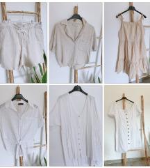 Bombažne/linene obleke