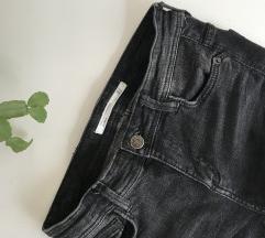 Črne Zara kavbojke