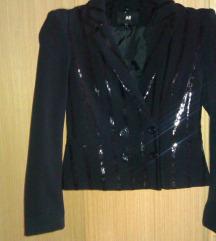 Črn blazer z detajli