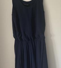 Obleka temno modra