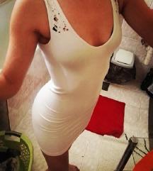 Modna ženska odprta obleka