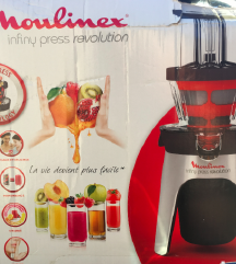 Moulinex sokovnik - počasni način stiskanja AKCIJA