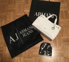 Armani Jeans pvc original torbica + darilo