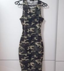 Vojaška obleka - odprt hrbet