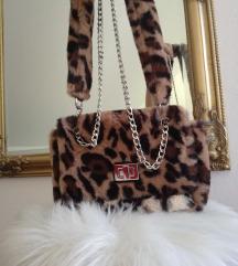 Zara fur torbica