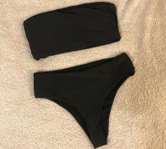 Črne kopalke bikini