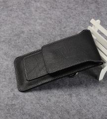 Usnjen zaščitnik-torbica za telefone