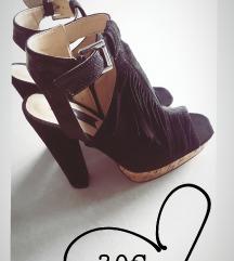 Čevlji z platformo petke