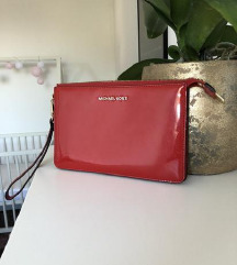 Michael Kors clutch, usnje, MPC 120€