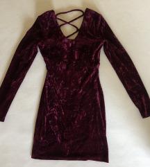 Bordo obleka