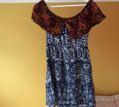 barvna poletna oblekica