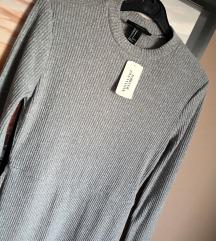 Nova siva jesenska oblekica RAZPRODAJA