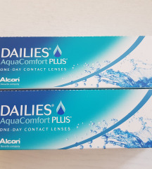 NOVE dnevne leče Dailies AquaComfort PLUS