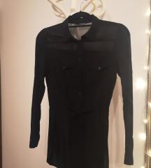 Črna lahkotna srajica