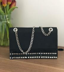 ZARA črna torbica