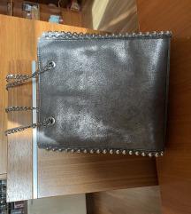 Siva torbica Zara