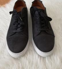 Ženske usnjene superge čevlji črni  41