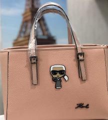 Spet na voljo Karl usnjena torbica
