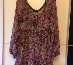 Majica/Tunika rožast vzorec M