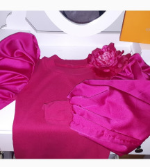 Roza obleka novo