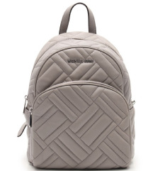 MICHAEL KORS ABBEY backpack leather gray